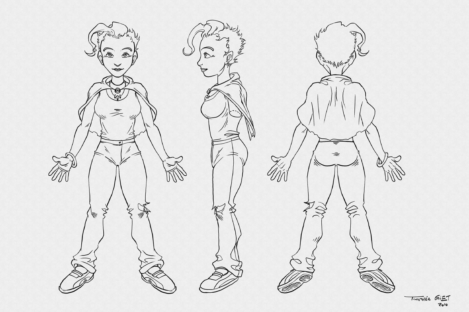 Character Design Krita : Character design animtim timothée giet we