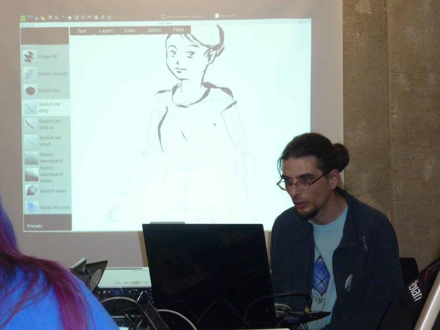 krita sketch workshop